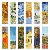 Van Gogh, segnalibri per pittura a olio, per donne, uomini, bambini, ragazze, 30 pezzi...