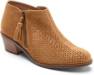 Vionic Women's Joy Daytona Ankle Boot - Ladies Bootie with Concealed Orthotic Support
