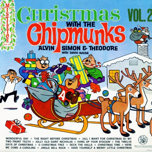 Audio CD Christmas with the Chipmunks, Volume 2 (MLP1217)