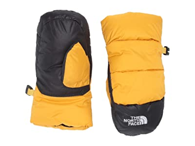 The North Face Kids Nuptse Mitt (Toddler) (TNF Yellow) Ski Gloves