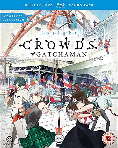 Gatchaman Crowds Insight DVD/Blu-ray Combo Pack