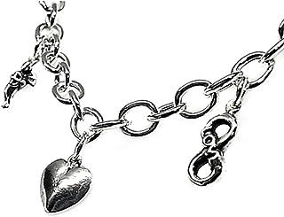 925M Silver Bracelet Law 19cm Love Fetishes. [Ab3563]