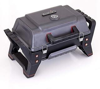 Char-Broil X200 Grill2Go - Barbecue Portable avec Système de Cuisson TRU-Infrared, Gris/Fonte d'aluminium