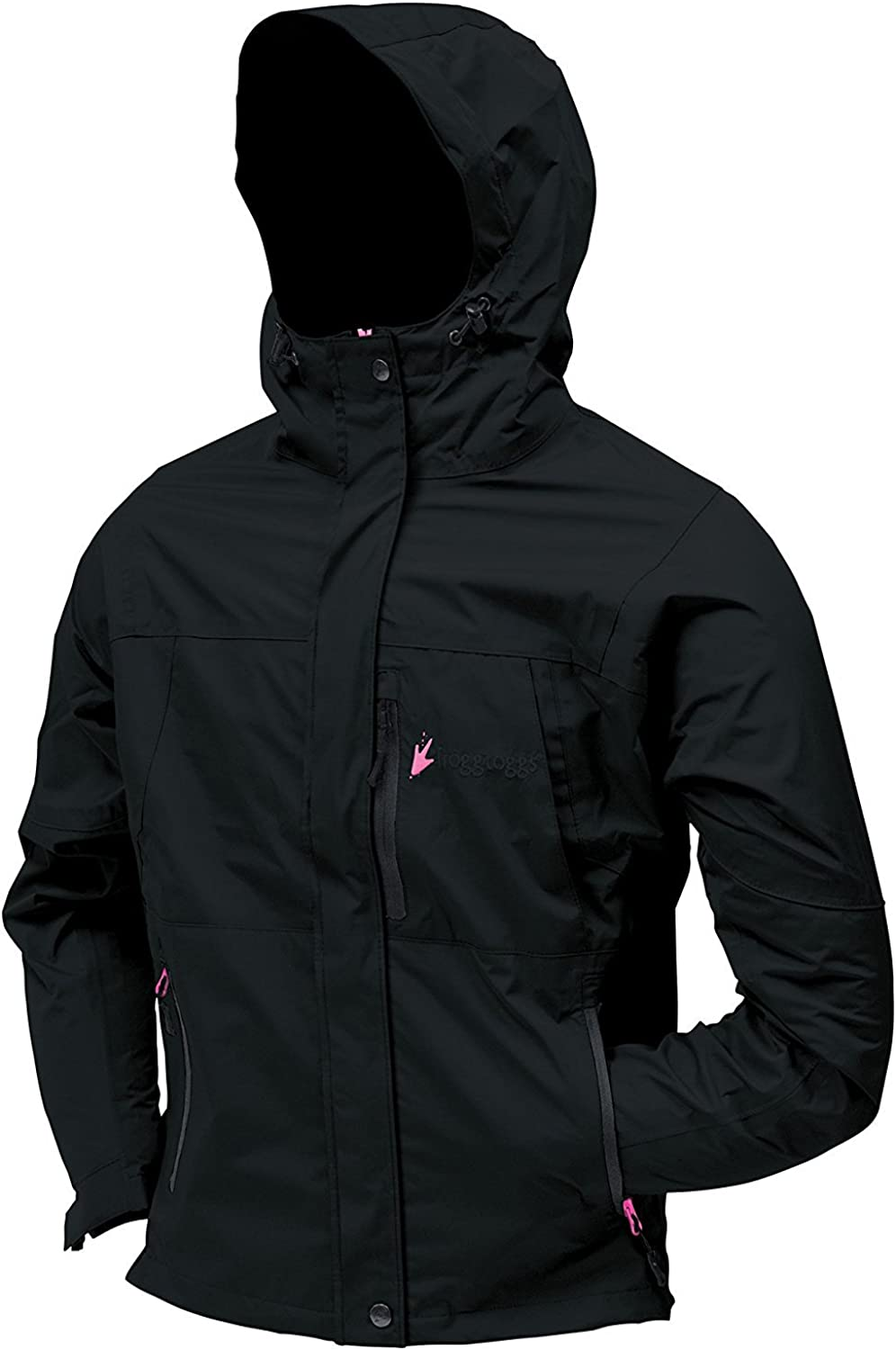 Frogg Toggs Women's Toad Rage II Jacket, Black, NT6551101SM, Small