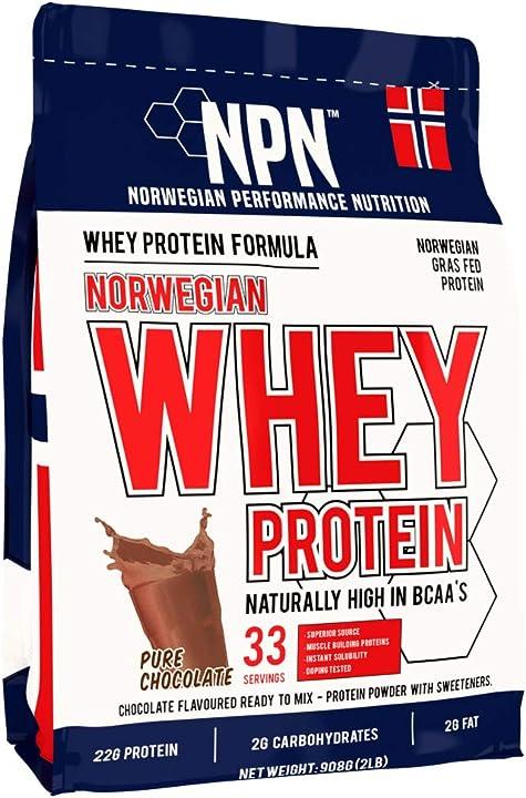 Proteina di siero di latte di alta qualità norvegese - npn whey protein powder 30011533