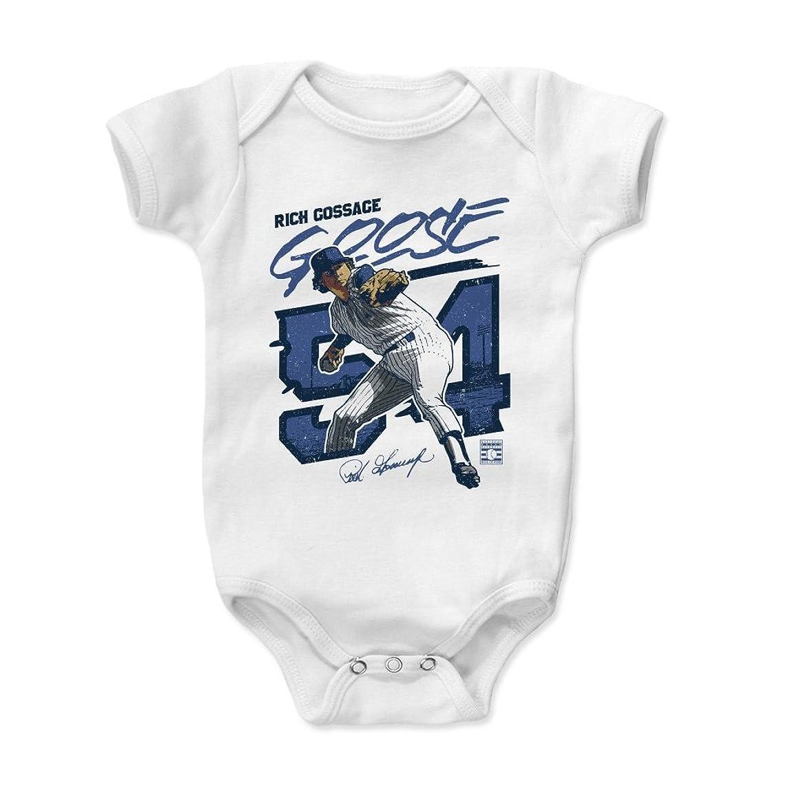 500 LEVEL Rich Gossage New York Baseball Baby Clothes & Onesie (3-24 Months) - Rich Gossage Goose