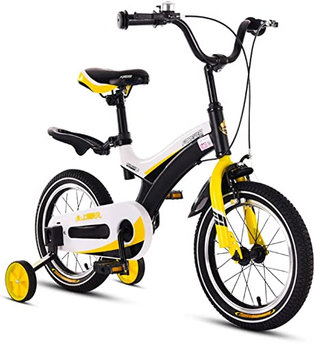 Kinderfürr r Einr r Kinder fürrad Jungen und mädchen Sport fürrad 2-8 Jahre alt Baby fürrad Kinderwagen (Farbe   schwarz, Größe   14Inch)