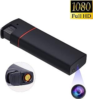 ライターカメラ 超小型カメラ 防犯監視ビデオカメラ 赤外線暗視 1080P高画質 電熱線式ライター スパイカメラ 隠しカメラ 監視防犯カメラ 暗視機能 録画録音 携帯便利 長時間録画 日本語説明書付け