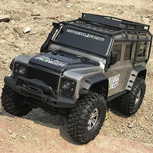 LY88 Vehículos de Control Remoto con tracción en Las Cuatro Ruedas Alta Velocidad 2.4Ghz Carros de Carreras Modelo de Coche Eléctrico Pull Climbing Car Adecuado para niños Adultos Toy Crawlers Co
