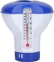 Bedler Dispensador de Productos químicos para Piscinas con termómetro Dispensador de tabletas de Cloro Flotante Dispensador de Productos químicos para SPA para Piscinas de Interior al Aire Libre Spas