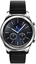 Samsung Gear S3 Classic Smartwatch 4GB SM-R770 with Leather Band (Silver) Tizen OS..