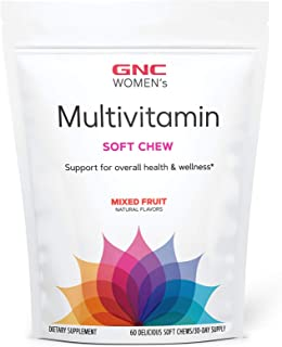 GNC Womens Multivitamin Soft Chew - Mixed Fruit