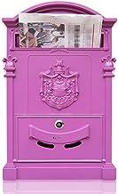 Mail Box Mailboxen Wall Mount Vergrendeling Mailbox Universele Verticale Gemonteerde Mail Box Gegalvaniseerde Thuiskantoor...