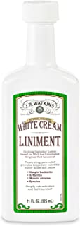 J.R. Watkins White Cream Liniment, 11 Ounce