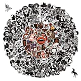 200PCS Cool Gothic Stickers Pack for Teens, Vinyl Punk Gothic Stickers for Water Bottle, Computer, Skateboard, Tablet, Luggage, Phone, Notebook, Trendy Aesthetic Decal for Laptop