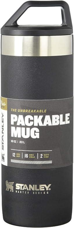 18 oz Master Unbreakable Packable Mug