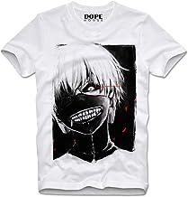 DOPEHOUSE T Shirt Camiseta Tokyo Ghoul Ken Kaneki Rize Kamishiro Horror Cult Manga