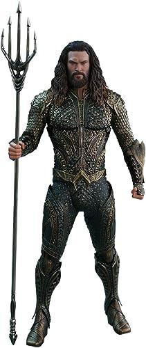 mejor servicio Hot Toys Figura Aquaman 30 cm. La Liga Liga Liga de la Justicia. Movie Masterpiece. Escala 1 6. DC Cómics  precios bajos