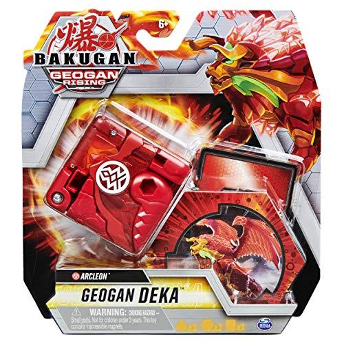 Bakugan Geogan Rising 2021 Deka Pyrus Arcleon Jumbo Collectible Transforming Figure