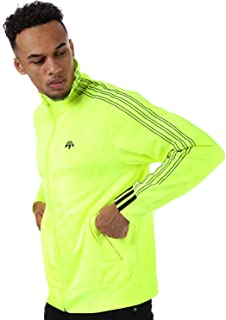 adidas Mens Alexander Wang Jaquard Track Top in Yellow.