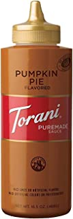 Torani Puremade Pumpkin Pie Sauce, 16.5 Ounces