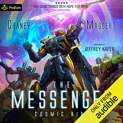 Cosmic Ride Audiobook By Terry Maggert, J. N. Chaney cover art
