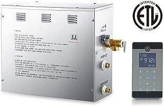7.5 KW Sauna Steam Generator, Home Bathrom Steam Bath Generator for Home SPA(Steam Machine, Control Panel, Light Wire,Sensor Holder, Steam Outlet, Pressure Release Vavle)
