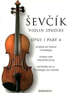 シェフチーク(セヴシック): バイオリン技巧教本 Op.1 パート 4/ボスワース社