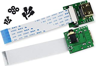 Arducam Raspberry Piカメラ専用15ピン60 mm FPCケーブル付きCSI to HDMIケーブル延長モジュール(2個1組)