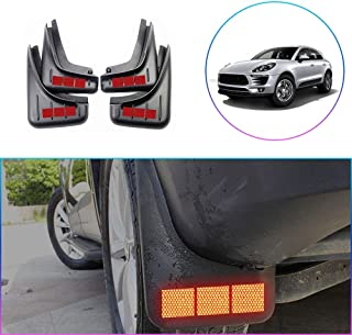Car Mud Flaps for Dodge Ram 1500//2500//3500 Splash Guard Front /& Rear Flare Fender with Reflective Carbon Fiber Sign 4Pcs