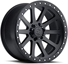 Black Rhino MINT Black Wheel with Painted Finish (17 x 9. inches /6 x 139 mm, 12 mm Offset)