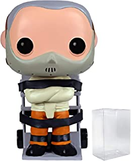 Funko Pop! Movies: The Silence of The Lambs Hannibal Lecter Collectible Vinyl Figure (Bundled with Pop Protector)