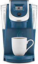Keurig K250 Coffee Maker, Single Serve K-Cup Pod Coffee Brewer, With Strength Control With Strength Control Peacock Blue 6...