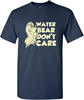 c891f98db Water Bear Don't Care Funny Tardigrade Science Biology Humor Adult Men's T- Shirt