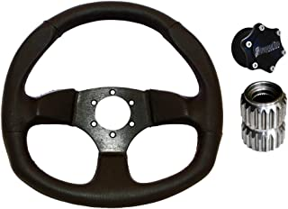 Dragonfire Racing Vinyl D Quick-Release Steering Wheel Kit - Fits: Can-Am Maverick X3 X RS Turbo R 2017-2019