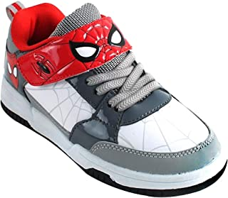 Joah Store Sneakers for Boys Red Gray Shoes (Parallel Import/Generic Product)