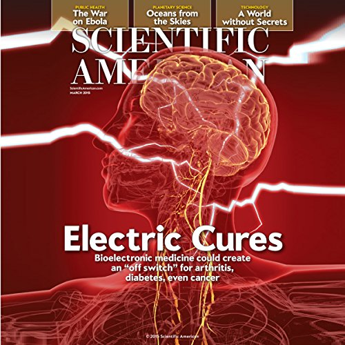 Scientific American, March 2015 audiobook cover art