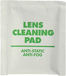 Allegro 0350 Safety Glasses Lens Cleaning Wipes, Sold by the Box of 100 Wipes