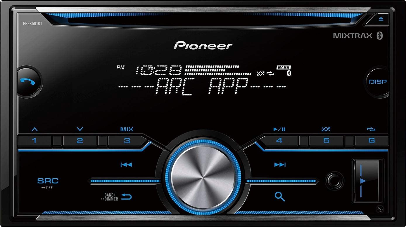 Pioneer FH S501BT Receiver Compatibility Bluetooth