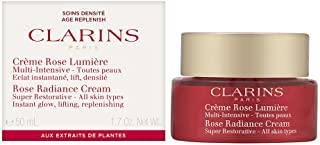 Clarins Rose Radiance Cream Super Restorative for Unisex 1.7 oz Cream, 50 ml