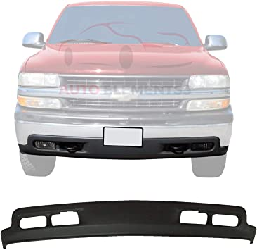 Amazon Com New Front Lower Valance Air Deflector Primed With Fog Light Tow Hook Holes For 1999 2002 Chevrolet Silverado 1500 2500hd 3500 2000 2004 Tahoe Suburban Direct Replacement 15005294 Automotive