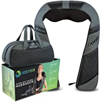 Resteck Electric Shiatsu Massagers Kit for Neck and Back with Heat