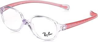 Ray-Ban 雷朋儿童 0RY 1587 3765 41 光学镜架,透明浅紫色