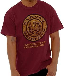Gaston's Gym Cool Workout Exercise Cardio T Shirt Tee