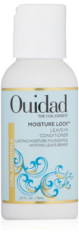アルミニウム群集飢OUIDAD MOSITURE LOCK LEAVIN-IN-CONDITIONER 2.5 OZ by Ouidad by Ouidad