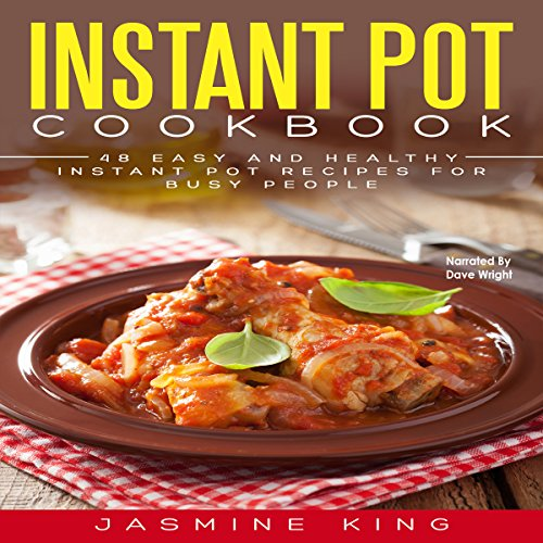 Instant Pot Cookbook audiobook cover art