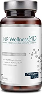 Sponsored Ad - Inr Wellness MD - Ultra-Pure Beta-Glucan | Dietary Supplement with PURACERE (VCx) for Immune Support | 508m...