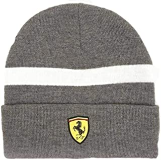 Scuderia Ferrari Formula 1 2018 Gray Knitted Beanie