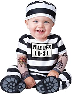 Fun World InCharacter Costumes Baby's Time Out Convict Costume