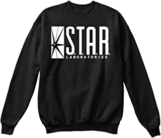 Star Laboratories Star Labs Sweatshirt Sweater Crew Neck Pullover - Premium Quality